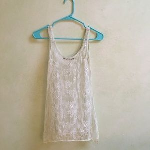 Lace Camisol - pale mint green